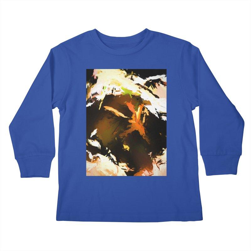 Volcano Bird Beak Lava Gag Kids Longsleeve T-Shirt by jackievano's Artist Shop