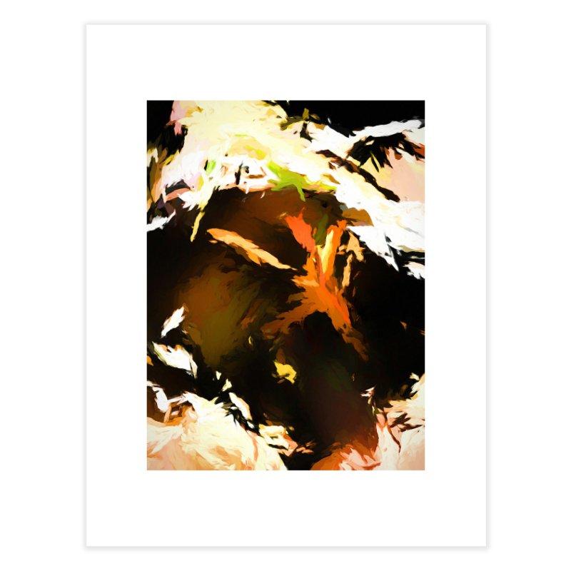 Volcano Bird Beak Lava Gag Home Fine Art Print by jackievano's Artist Shop