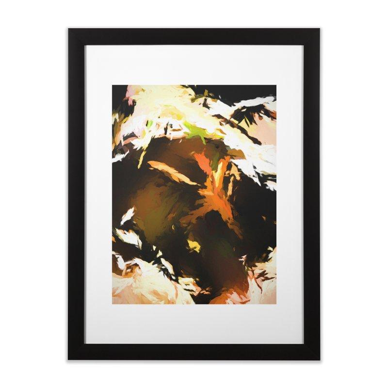 Volcano Bird Beak Lava Gag Home Framed Fine Art Print by jackievano's Artist Shop