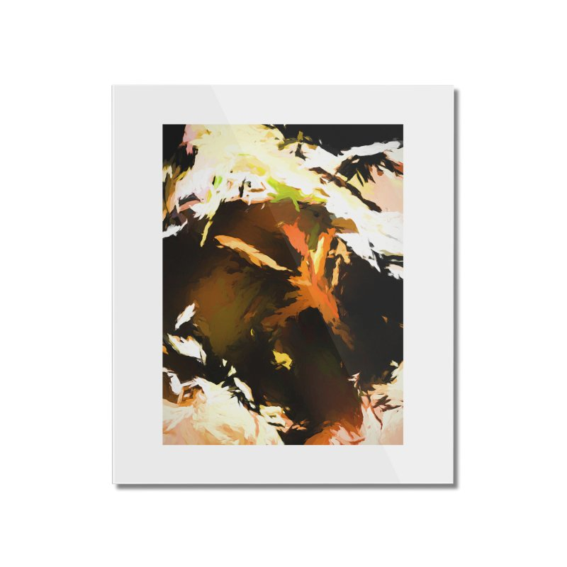 Volcano Bird Beak Lava Gag Home Mounted Acrylic Print by jackievano's Artist Shop