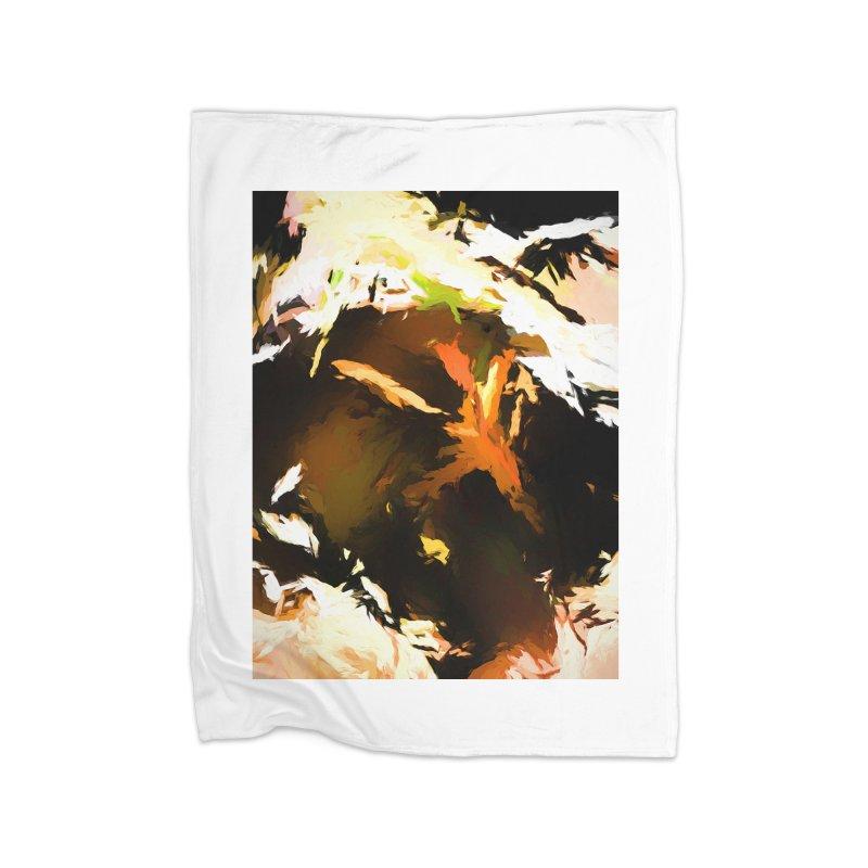 Volcano Bird Beak Lava Gag Home Fleece Blanket Blanket by jackievano's Artist Shop