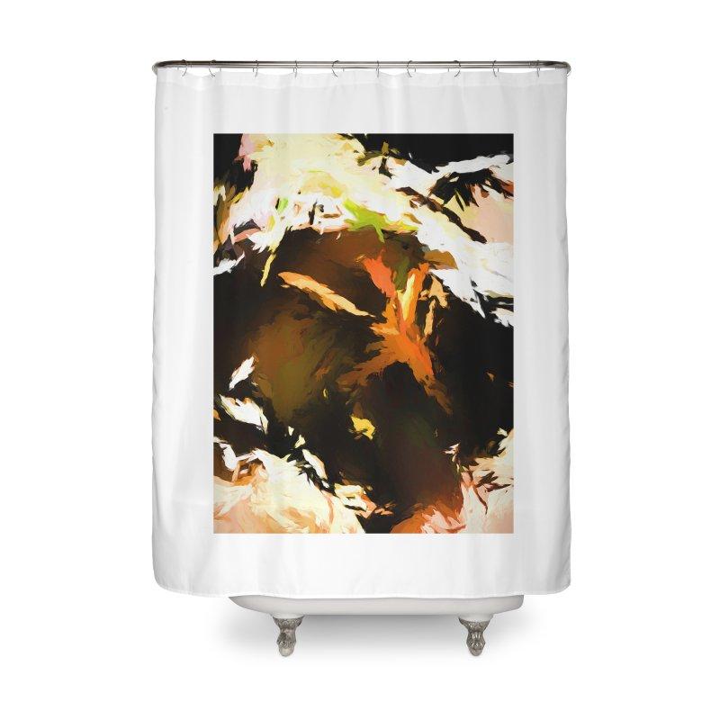 Volcano Bird Beak Lava Gag Home Shower Curtain by jackievano's Artist Shop