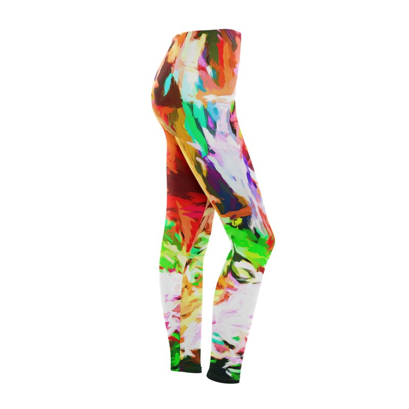 Orange Fire and the Triangle Abyss Women's Bottoms by jackievano's Artist Shop