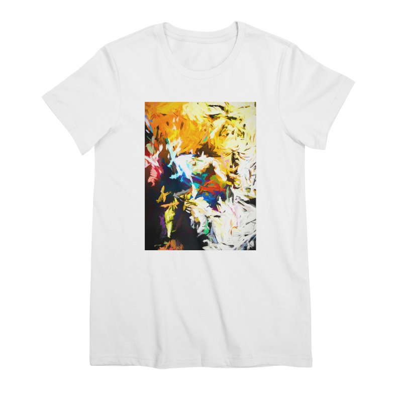 Honeycomb and Candy Floss Women's Premium T-Shirt by jackievano's Artist Shop