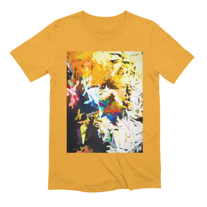 Honeycomb and Candy Floss Men's Extra Soft T-Shirt by jackievano's Artist Shop