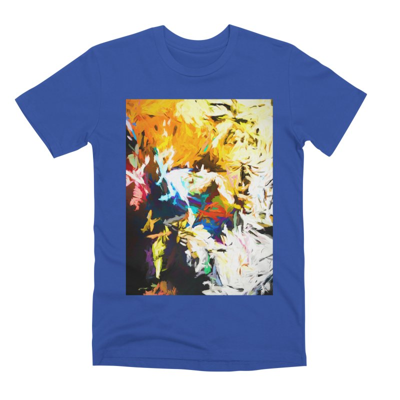 Honeycomb and Candy Floss Men's Premium T-Shirt by jackievano's Artist Shop