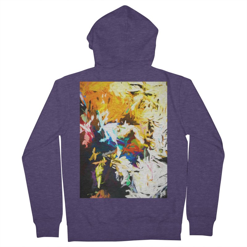 Honeycomb and Candy Floss Men's French Terry Zip-Up Hoody by jackievano's Artist Shop