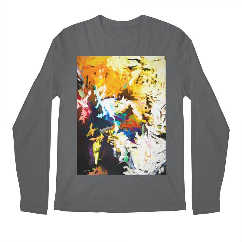 Honeycomb and Candy Floss Men's Regular Longsleeve T-Shirt by jackievano's Artist Shop