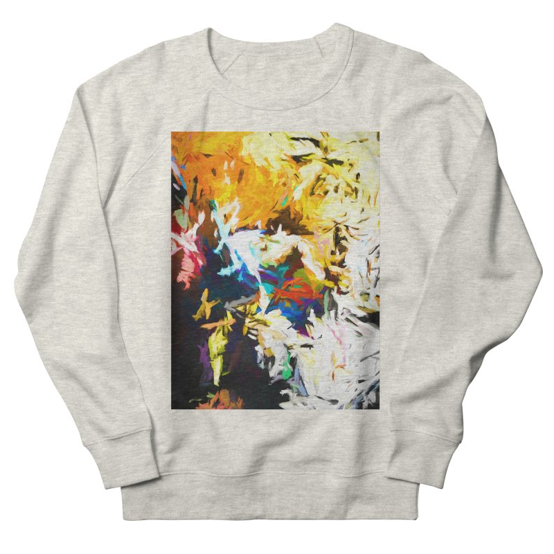 Honeycomb and Candy Floss Women's French Terry Sweatshirt by jackievano's Artist Shop