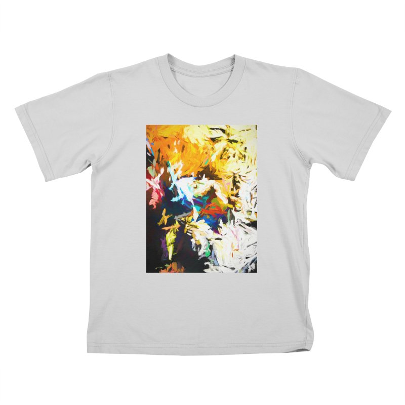 Honeycomb and Candy Floss Kids T-Shirt by jackievano's Artist Shop