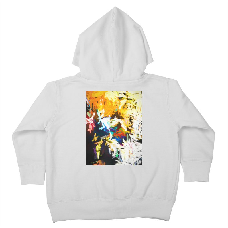 Honeycomb and Candy Floss Kids Toddler Zip-Up Hoody by jackievano's Artist Shop