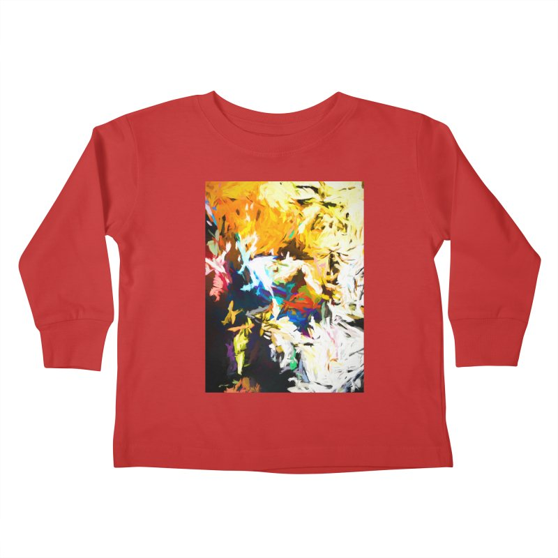 Honeycomb and Candy Floss Kids Toddler Longsleeve T-Shirt by jackievano's Artist Shop
