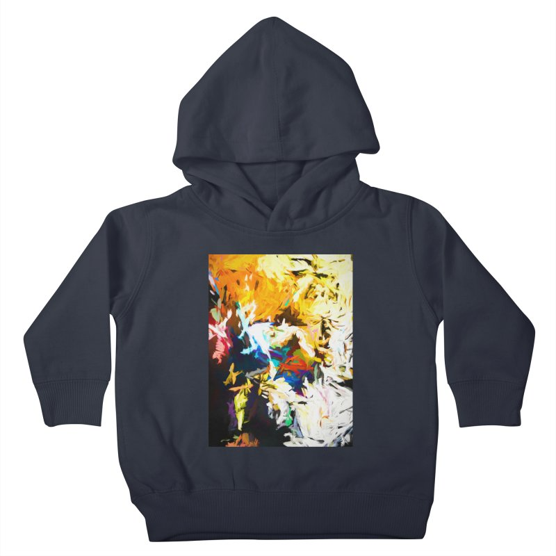 Honeycomb and Candy Floss Kids Toddler Pullover Hoody by jackievano's Artist Shop