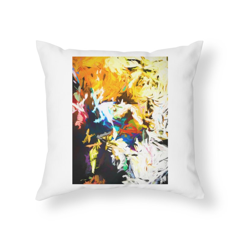 Honeycomb and Candy Floss Home Throw Pillow by jackievano's Artist Shop