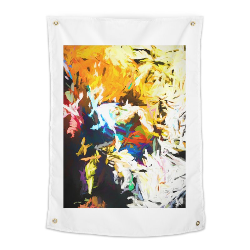 Honeycomb and Candy Floss Home Tapestry by jackievano's Artist Shop