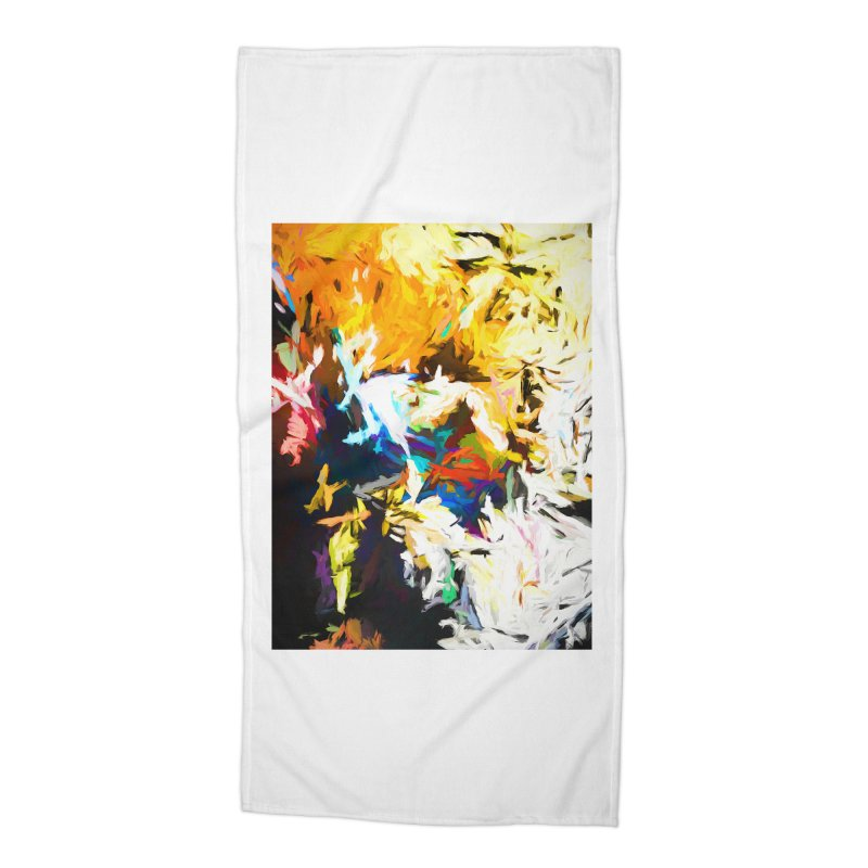Honeycomb and Candy Floss Accessories Beach Towel by jackievano's Artist Shop