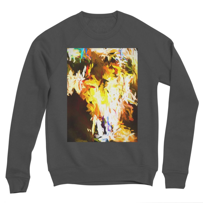 Cat with the Red Lipstick Men's Sponge Fleece Sweatshirt by jackievano's Artist Shop