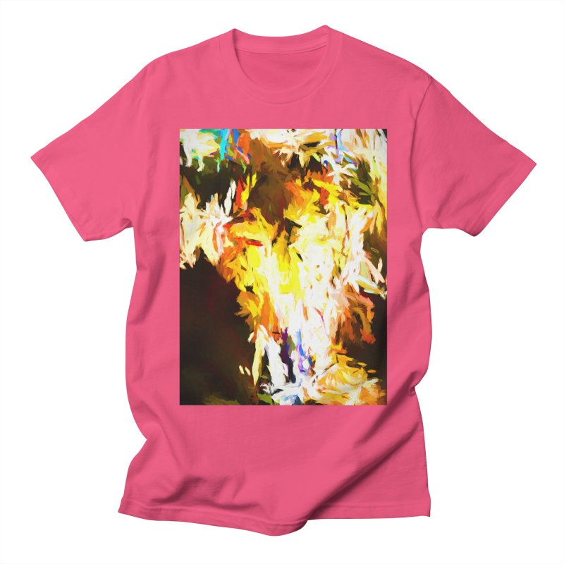 Cat with the Red Lipstick Women's Regular Unisex T-Shirt by jackievano's Artist Shop