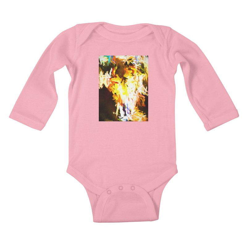 Cat with the Red Lipstick Kids Baby Longsleeve Bodysuit by jackievano's Artist Shop