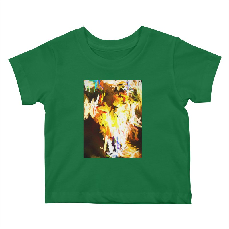Cat with the Red Lipstick Kids Baby T-Shirt by jackievano's Artist Shop