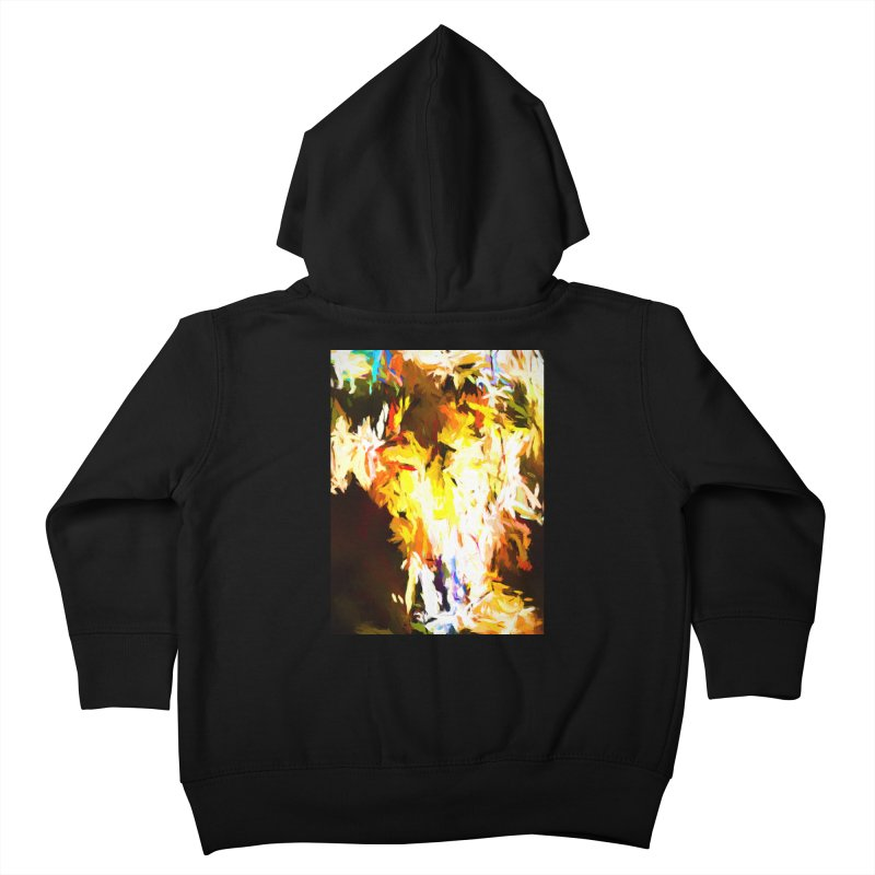 Cat with the Red Lipstick Kids Toddler Zip-Up Hoody by jackievano's Artist Shop