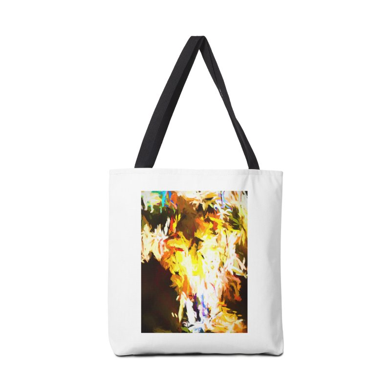 Cat with the Red Lipstick Accessories Tote Bag Bag by jackievano's Artist Shop