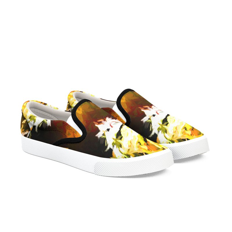 Good Change Men's Slip-On Shoes by jackievano's Artist Shop