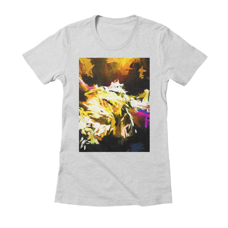 Good Change Women's Fitted T-Shirt by jackievano's Artist Shop