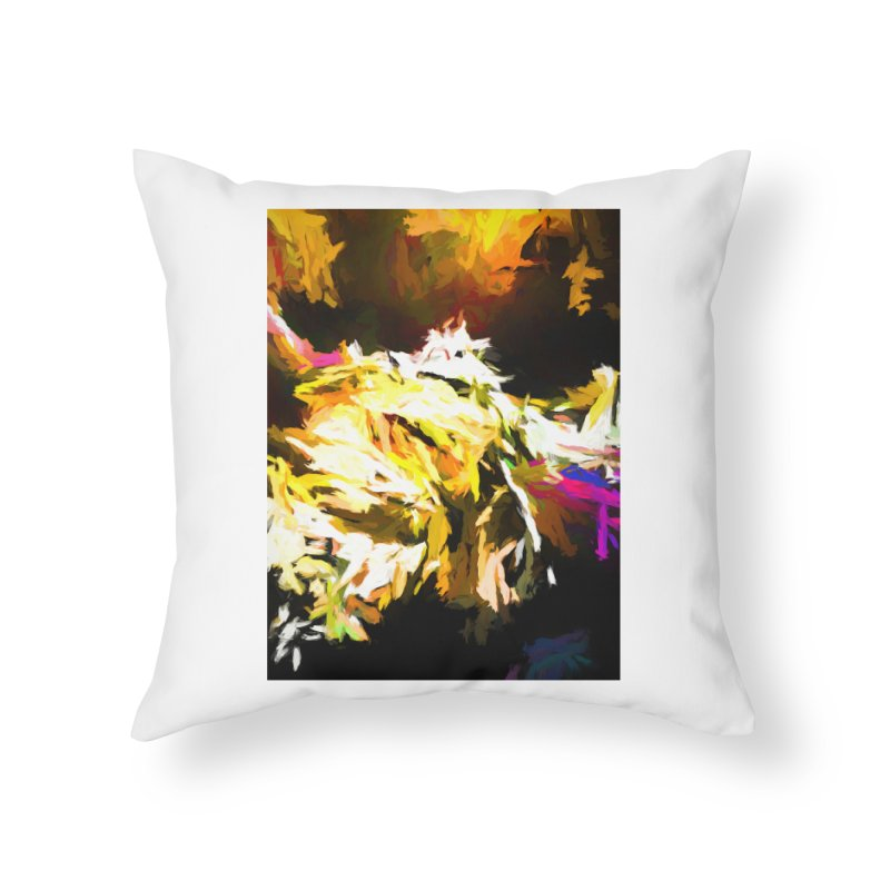 Good Change Home Throw Pillow by jackievano's Artist Shop