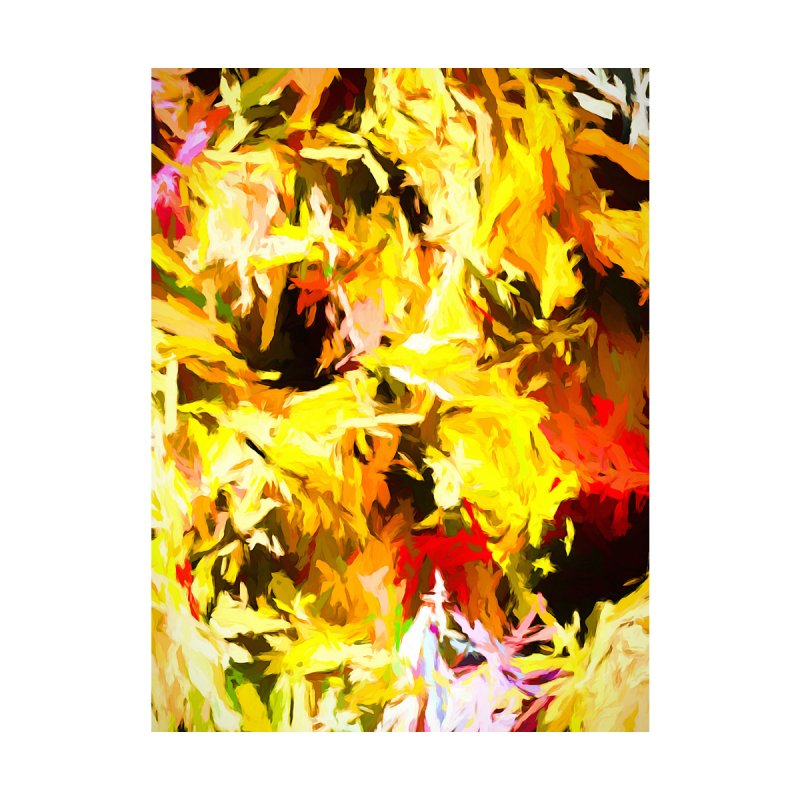 Yellow Fire and the Triangle Abyss by jackievano's Artist Shop