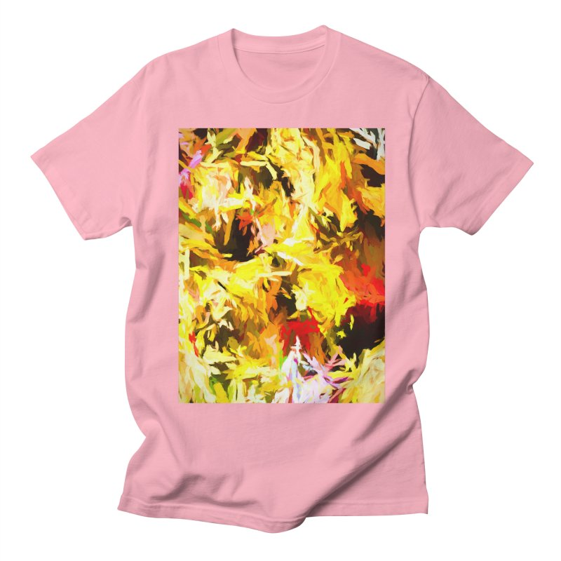 Yellow Fire and the Triangle Abyss Women's Regular Unisex T-Shirt by jackievano's Artist Shop