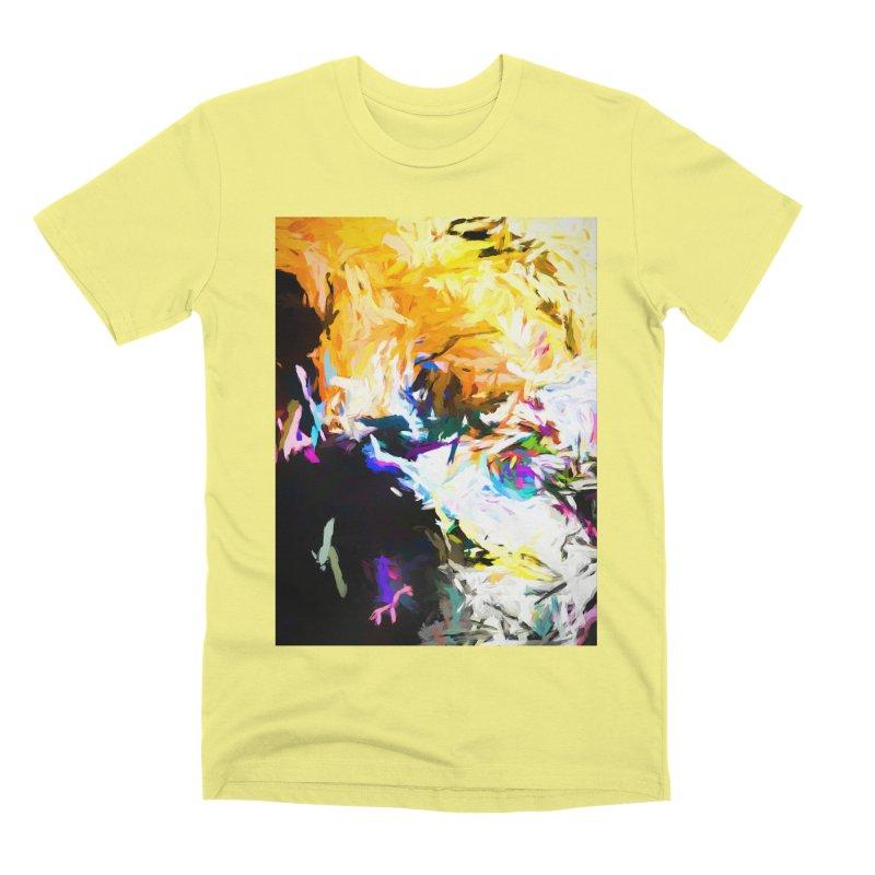 Gargoyle Cyclone Spin Men's Premium T-Shirt by jackievano's Artist Shop