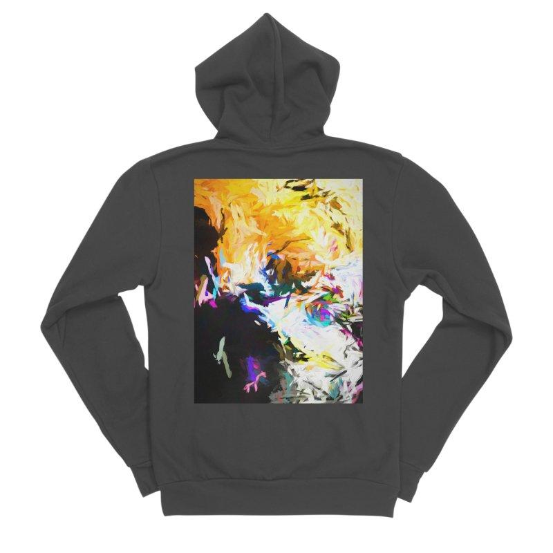 Gargoyle Cyclone Spin Men's Sponge Fleece Zip-Up Hoody by jackievano's Artist Shop