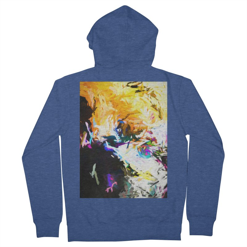 Gargoyle Cyclone Spin Men's French Terry Zip-Up Hoody by jackievano's Artist Shop