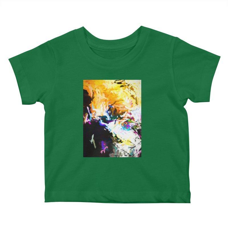 Gargoyle Cyclone Spin Kids Baby T-Shirt by jackievano's Artist Shop