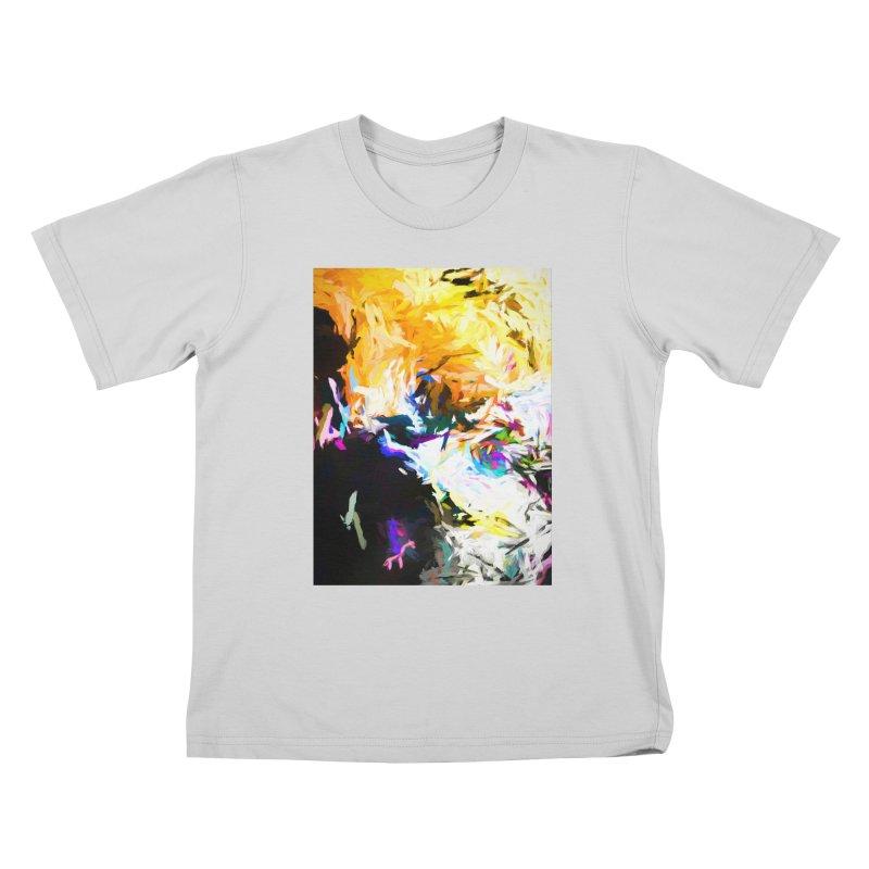 Gargoyle Cyclone Spin Kids T-Shirt by jackievano's Artist Shop