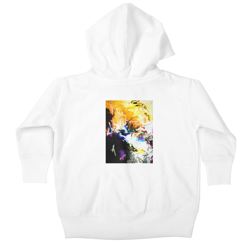 Gargoyle Cyclone Spin Kids Baby Zip-Up Hoody by jackievano's Artist Shop