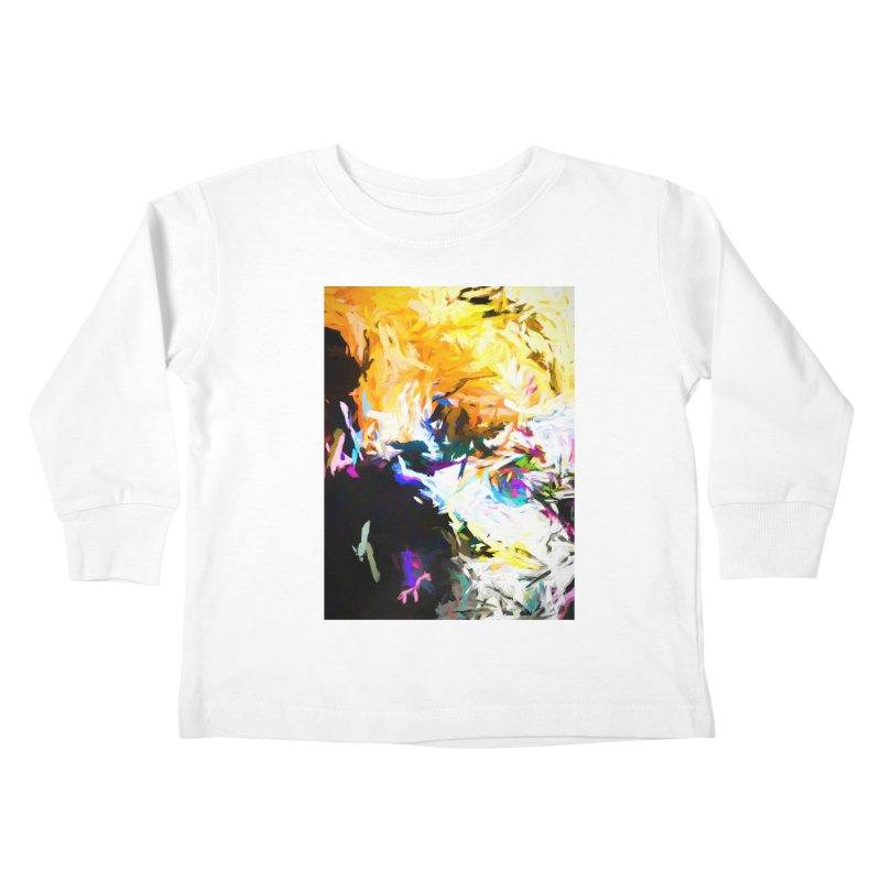 Gargoyle Cyclone Spin Kids Toddler Longsleeve T-Shirt by jackievano's Artist Shop