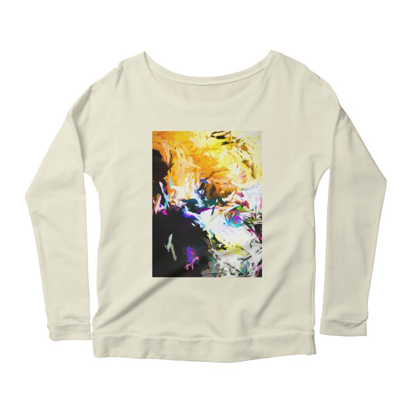 Gargoyle Cyclone Spin Women's Scoop Neck Longsleeve T-Shirt by jackievano's Artist Shop