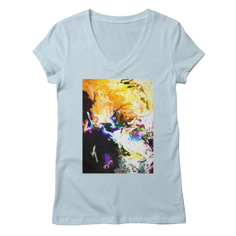 Gargoyle Cyclone Spin Women's Regular V-Neck by jackievano's Artist Shop