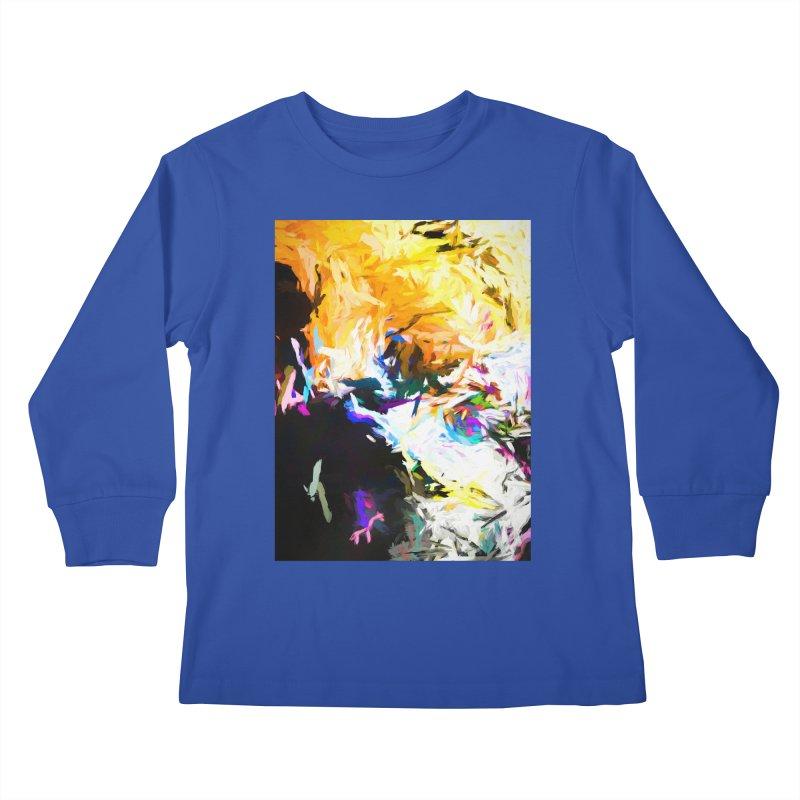 Gargoyle Cyclone Spin Kids Longsleeve T-Shirt by jackievano's Artist Shop