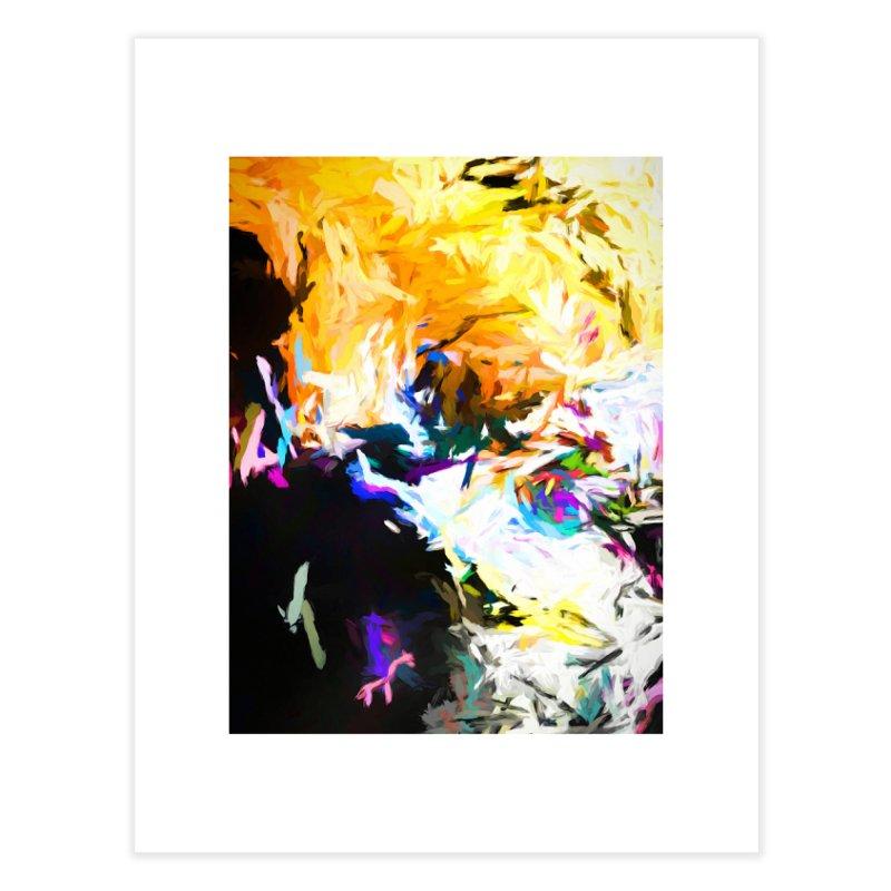 Gargoyle Cyclone Spin Home Fine Art Print by jackievano's Artist Shop