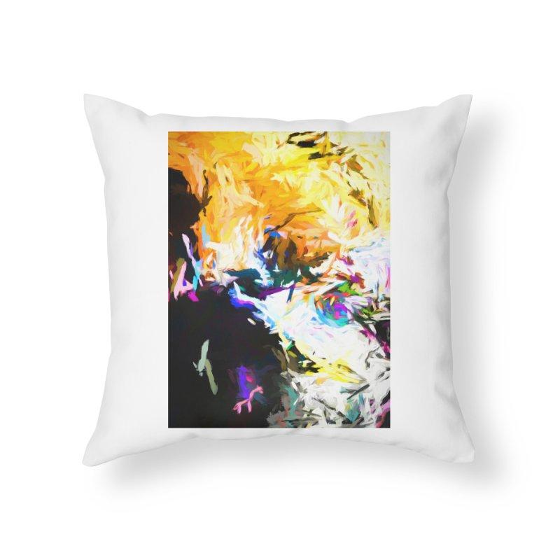 Gargoyle Cyclone Spin Home Throw Pillow by jackievano's Artist Shop