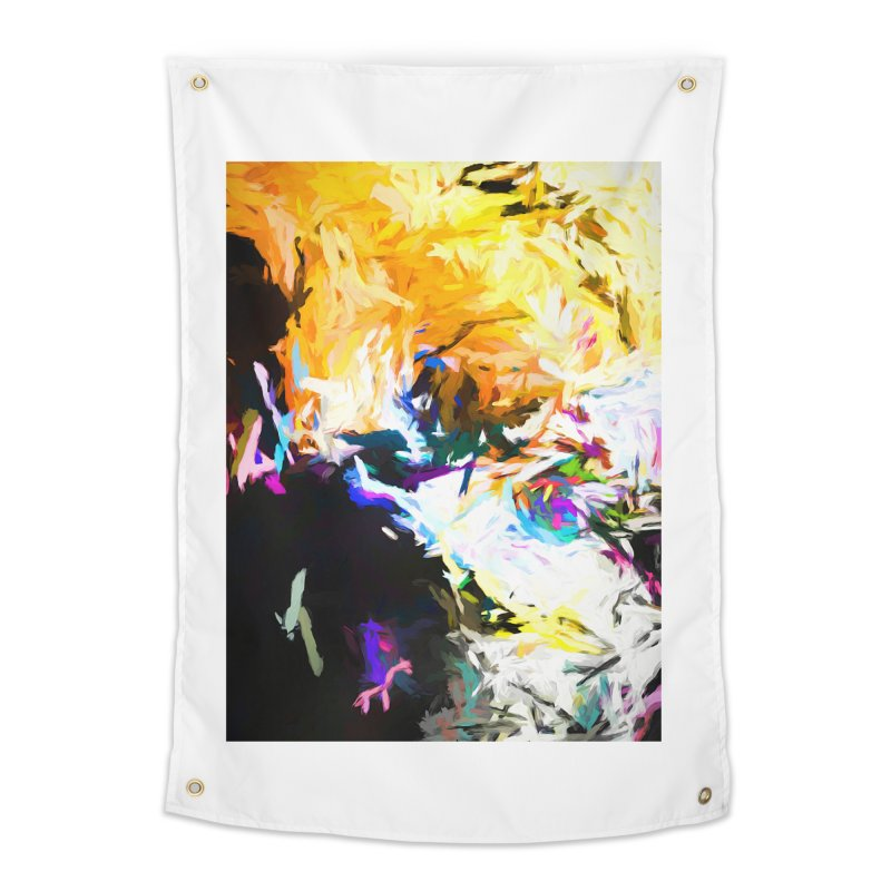 Gargoyle Cyclone Spin Home Tapestry by jackievano's Artist Shop