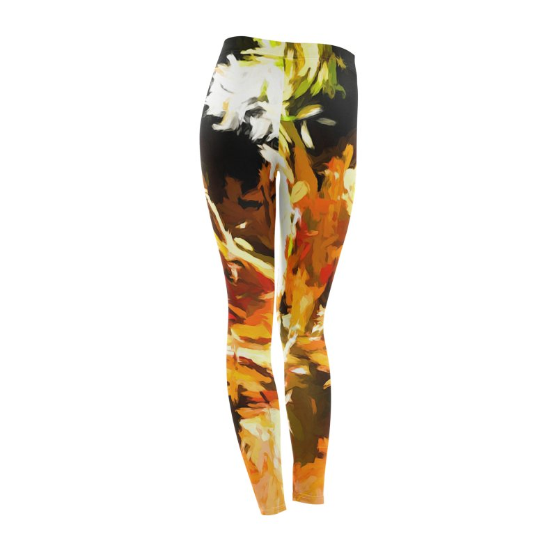Self Portrait with the White Flower Women's Bottoms by jackievano's Artist Shop