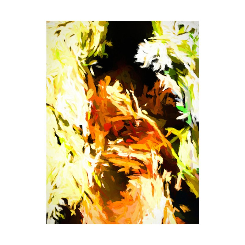 Self Portrait with the White Flower by jackievano's Artist Shop