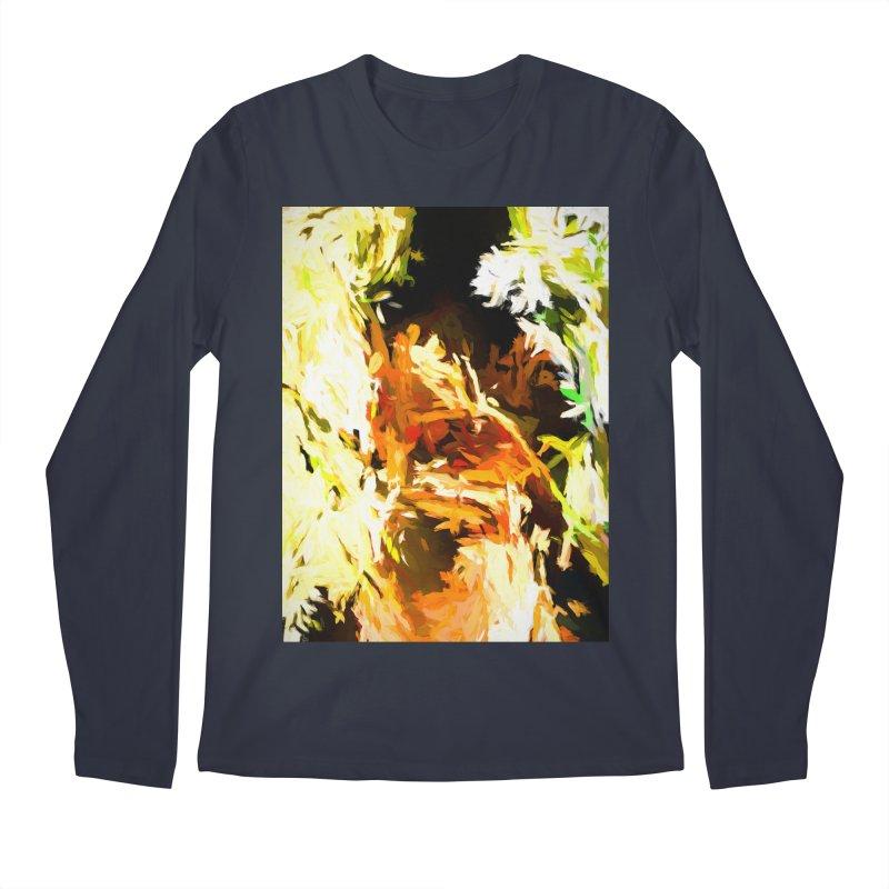 Self Portrait with the White Flower Men's Regular Longsleeve T-Shirt by jackievano's Artist Shop