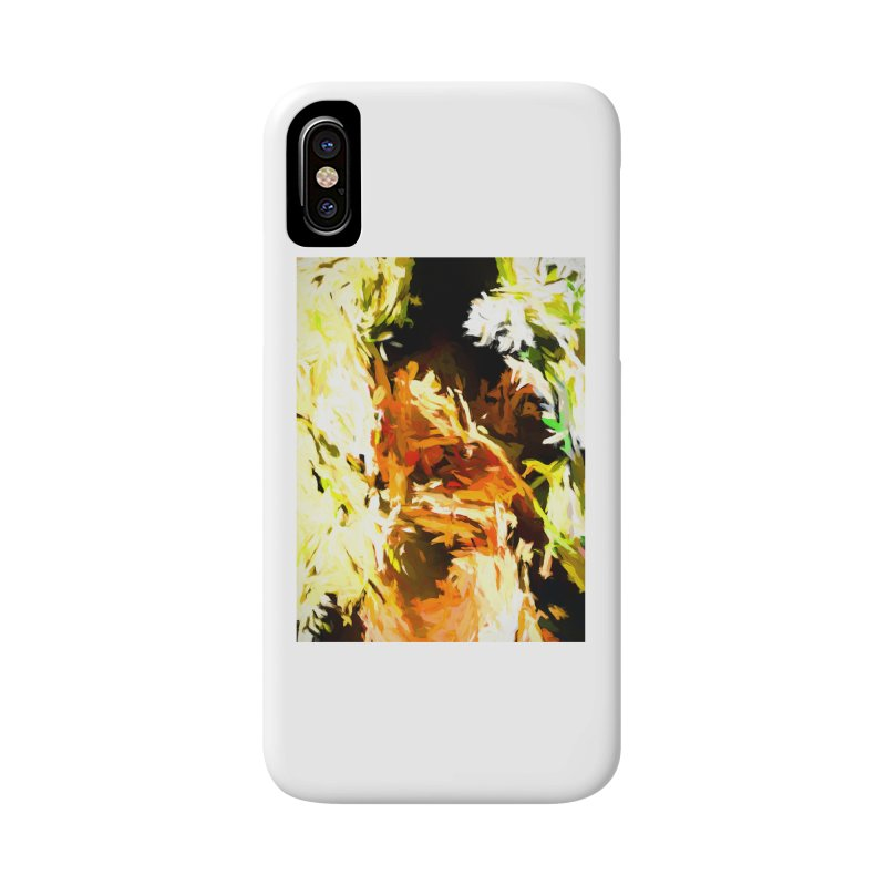 Self Portrait with the White Flower Accessories Phone Case by jackievano's Artist Shop