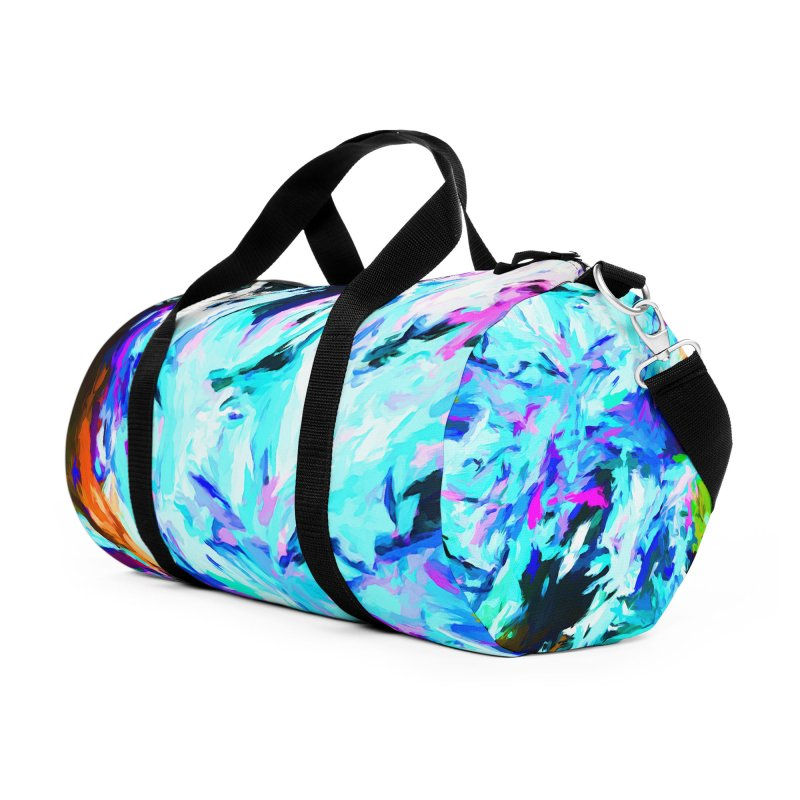 Danger and Beauty of the Water Avalanche Accessories Duffel Bag Bag by jackievano's Artist Shop