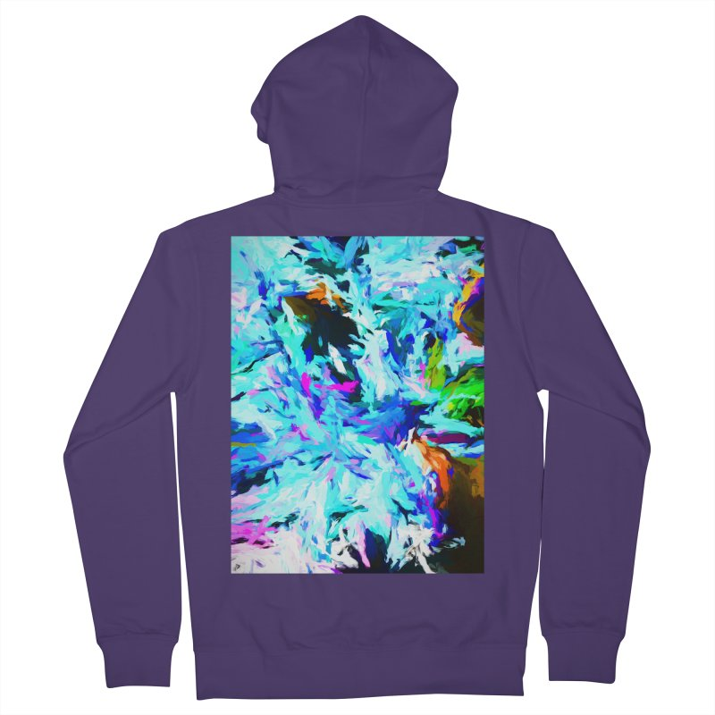Danger and Beauty of the Water Avalanche Women's French Terry Zip-Up Hoody by jackievano's Artist Shop